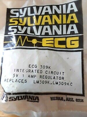 Ecg309k Pos 5volt 1amp Voltage Regulator To-3 Repl Nte309k Bp