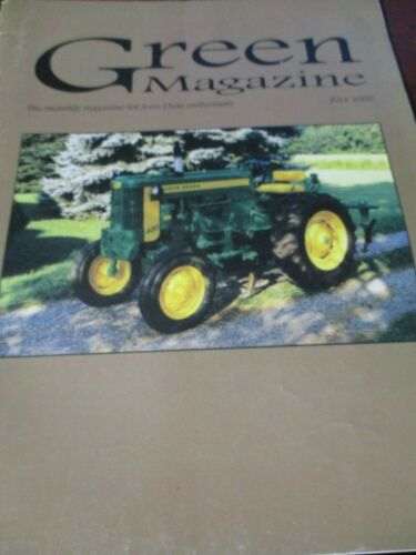 "John Deere ""Green Magazine"" July 2000"