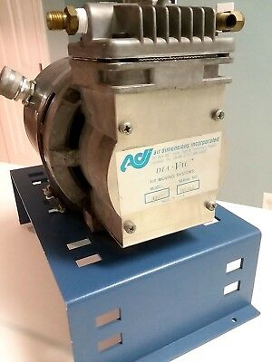 Adi Dia-vac 179 Diaphragm Sampling Vacuum Pump W 1725rpm 18hp Ge Motor