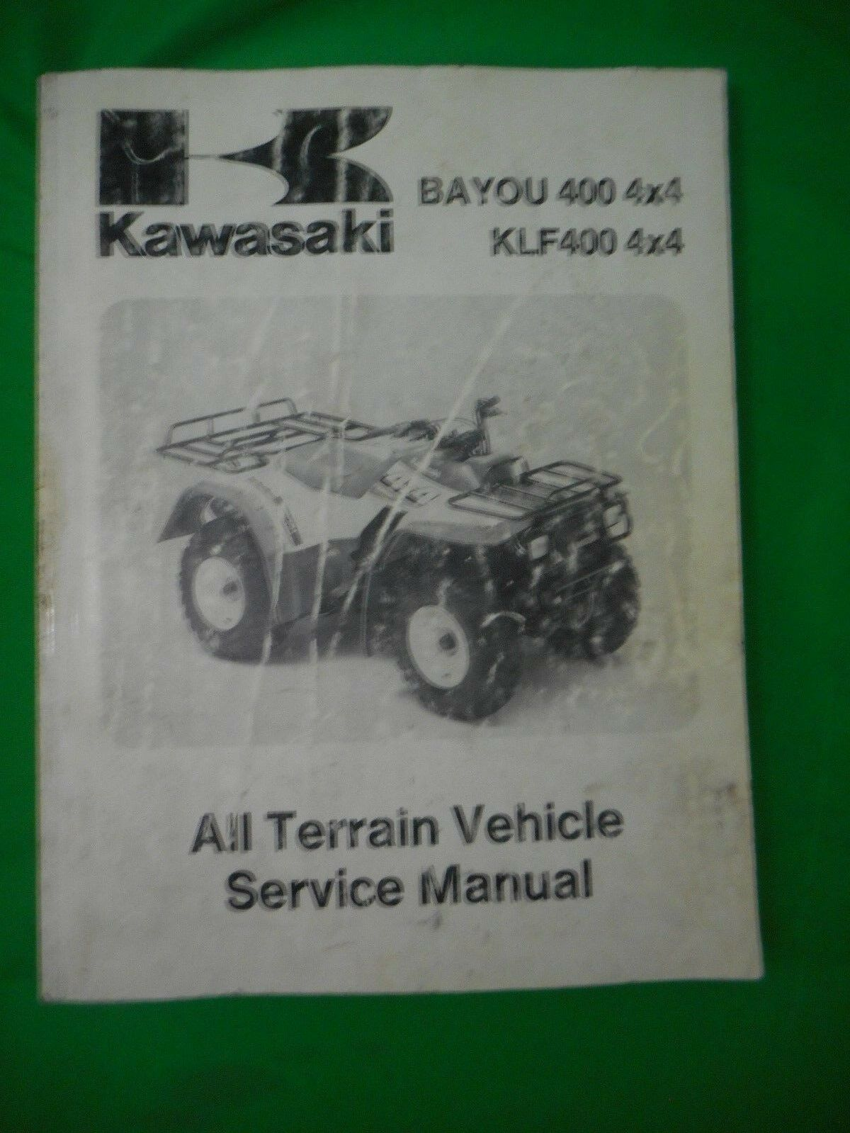 Genuine Kawasaki 93 - 95 Bayou 400 4X4 KLF400 4X4 Manual 99924-1154-02 OEM