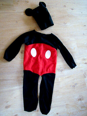 Mickey Mouse*Mickey Maus*Mouse Boy *süß* Karneval* Fasching, 1-2 Jahre, - Süße Mickey Mouse Kostüm