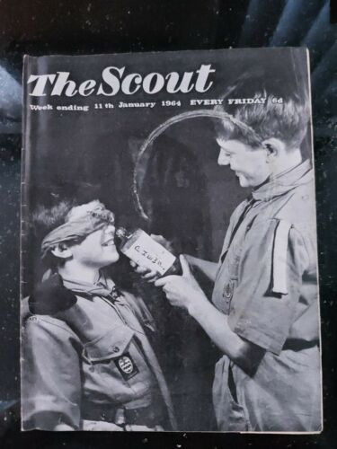 UK Scouting 1964 The Scout Magazine 11 January 1964