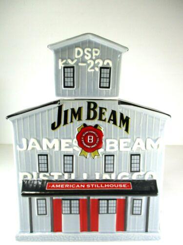 Jim Beam American Stillhouse Decanter Opened not used. No. 546-1400. 27cm X 19cm