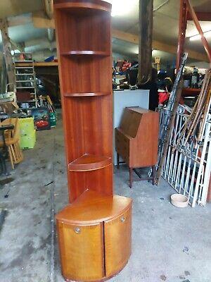Vintage Retro mid century teak corner unit mcintosh (G plan Parker knoll)