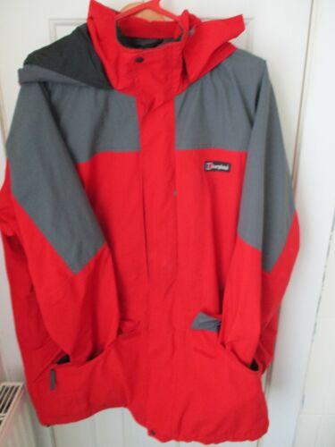 MODERN Berghaus Reed/Black XL Goretex Coat Jacket Mens waterproof hooded