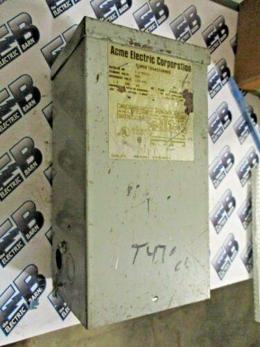 ACME T-1-53111, 1.5 KVA, 600 X 120/240 VOLT NEMA 3R TRANSFORMER- T470