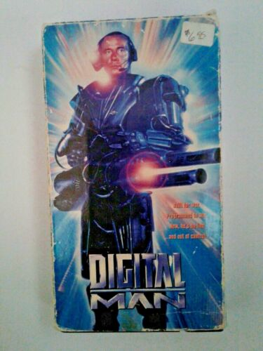 Digital Man VHS (1995)