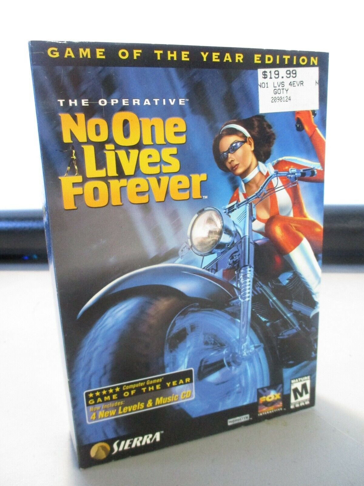 Computer Games - VINTAGE PC COMPUTER GAME CD ROM SIERRA NO ONE LIVES FOREVER GAME IN BOX