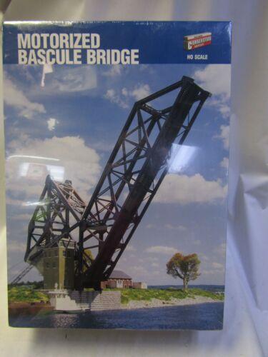 WALTHERS 933-9070 HO MOTORIZED BASCULE BRIDGE HO NIB