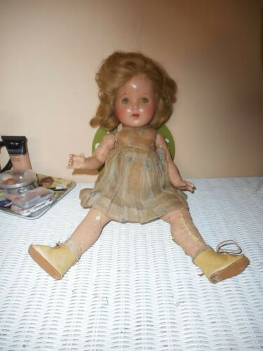 """Vintage Doll 15.5"""" With Shoes"""