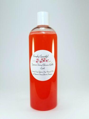 Simply Beautiful Japanese Cherry Blossom Bubble Bath 8oz Unisex/Womens/Kids