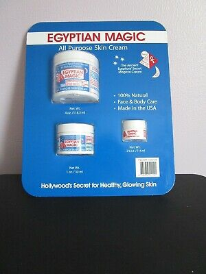 EGYPTIAN MAGIC ALL PURPOSES SKIN CREAM 100% NATURAL FACE HAND ACNE ECZEMA SET All Natural Skin Cream