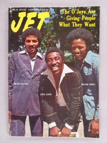 Jet Magazine - June 19, 1975 ~~ The O