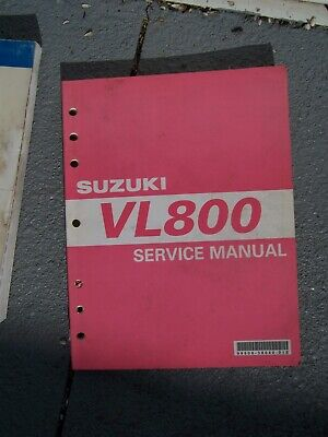 2002 Suzuki Model VL800 Motorcycle Service Manual  SEE MORE IN OUR STORE  T