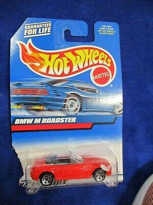 Hot Wheels Mattel Wheels BMW M Roadster Red