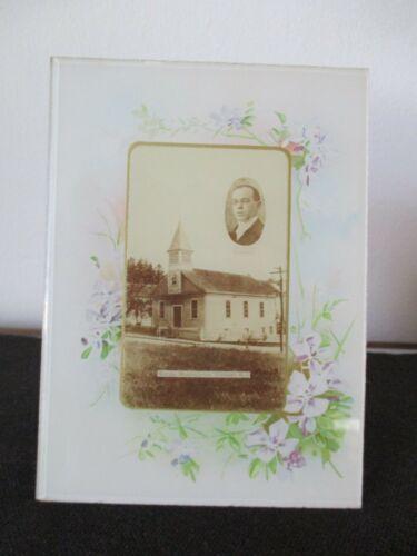 Circa 1905 Souvenir Frame Svenska Mission Crompton West Warwick Rhode Island