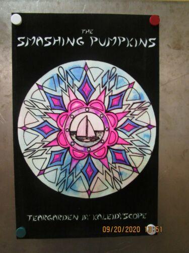 SMASHING PUMPKINS Teargarden BY Kaliedyscope VELVET Promo Poster New! HTF 2010 2