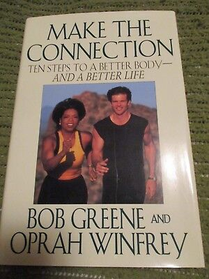 Original 1996 Oprah Winfrey And Bob Greene Hardcover 9 5X6 5  240 Pgs 402