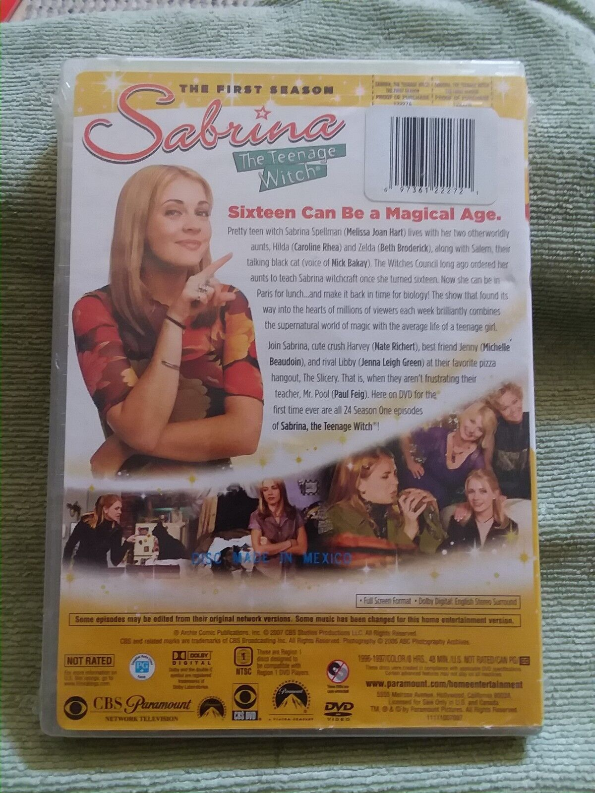 Sabrina the Teenage Witch Complete 1st First Season 1 One ~ NEW 4-DISC DVD SET