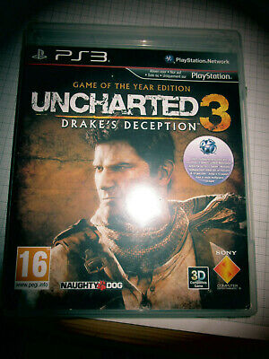 Uncharted 3: Drake's Deception (Sony PlayStation 3, 2013, DVD-Box) for sale  Shipping to Nigeria