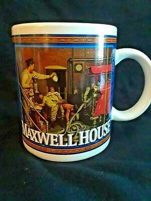Maxwell House Coffee Mug Vintage Cool Maxwell Memorabilia Good To The Last Drop