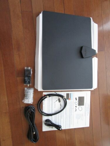 Antennas Direct ClearStream FLEX Amplified Indoor Multidirectional TV Antenna.