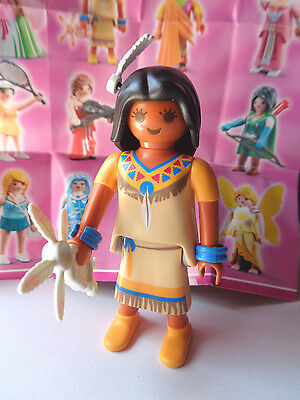 Serie 5 * Girls * Playmobil 5461* Indianerin / Squaw * Neu