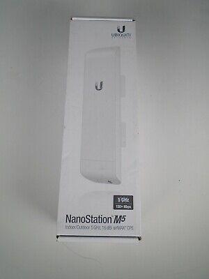 Ubiquiti NanoStation M5 5GHz 2x16DBI High Power MIMO TDMA Station New In Box comprar usado  Enviando para Brazil