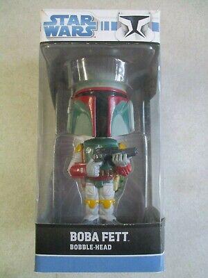FUNKO STAR WARS BOBA FETT BOBBLE-HEAD 2008 RELEASE IN BOX