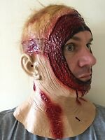 Cabeza Completa Sangriento Capucha Máscara Látex Jason Halloween Terror Disfraz -  - ebay.es