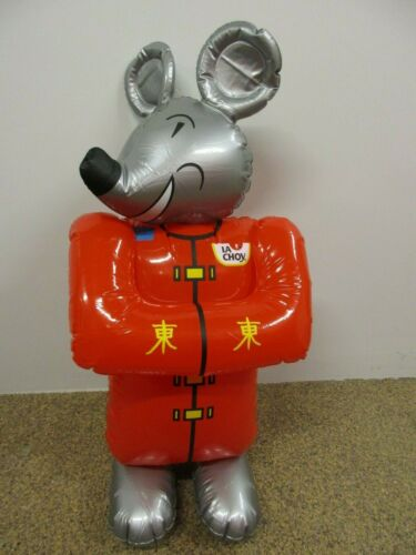 "Collectible Vintage RAT Chinese New Year ""La Choy"" Inflatable Decoration"