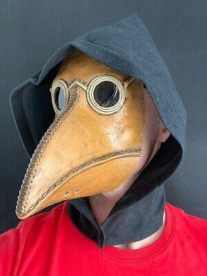 Plague Doctor Máscara Largo Nariz Steampunk Halloween Terror Disfraz Accesorio