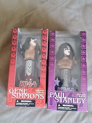 Kiss Gene Simmons & Paul Stanley Collectible Statuette McFarlane Toys New in box