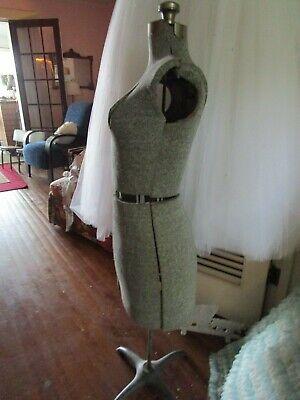 Vintage Acme Size A Adjustable Dress Form Mannequin Display Metal Dressmakers