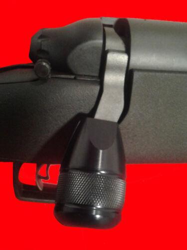 Bolt Lift Bolt on Knob Tactical Knob for Remington 783 Black Aluminum Knurled