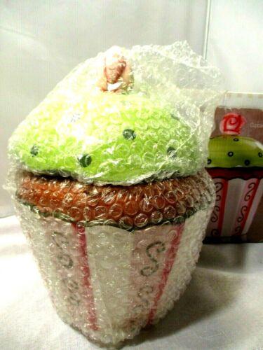Ceramic Cupcake Cookie Jar Target Home Essentials New in Box!
