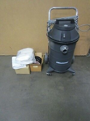 Minuteman 829123 15gal Ulpa Hepa Portable Canister Critical Filter Vacuum 115v