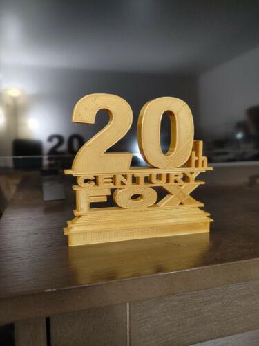 20th Century Fox Style Logo Sign (3D printed, stocking stuffer)