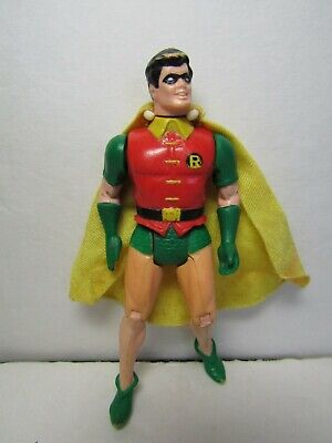 Vintage Loose 1984 Kenner DC Super Powers Robin Figure Complete With Cape