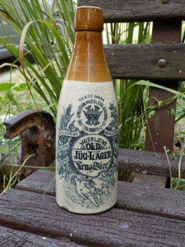 Christian-Moerlein-Brewing Co. antique stone ware beer bottle Cincinnati Ohio