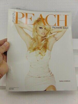 Atlanta PEACH magazine Premiere Issue April 2006 Vol 1 No. 1 Pam Anderson (MINT)