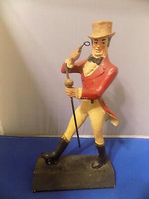 OLD JOHNNIE WALKER Wood Advertising Display DISTILLERY Statue Figure Scotch bar