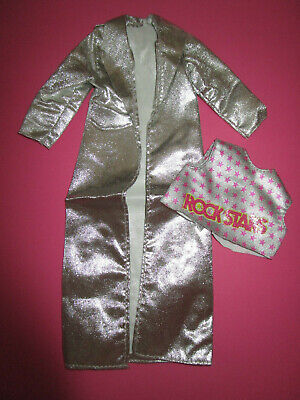 BARBIE OUTFITS HOT ROCK IN FUN ROCKERS KEN #3131 MATTEL 1987 (Barbie-outfits)