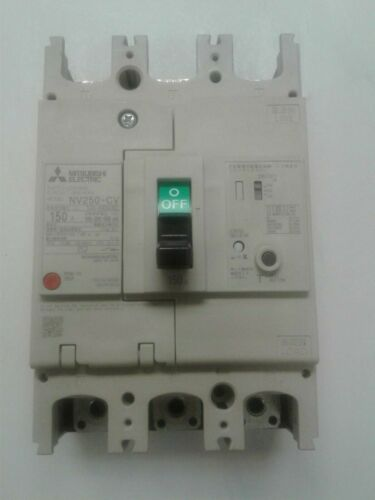 EARTH LEAKAGE MITSUBISHI ELECTRIC NV250-SVU3P125A100 MOLDED CASE CIRCUIT BREAKER