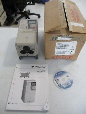 New Yaskawa F7 Cimr-f7u20p7 Drive 1hp 230v Inverter Drive Free Shipping
