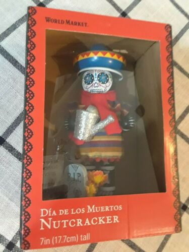 Day of the Dead Nutcracker Dia De Los Muertos  World Market