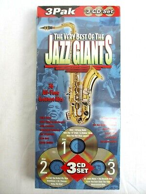 36 SONGS..THE BEST of JAZZ HITS on 3 CD SET..VARIOUS