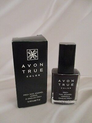 Avon Nailwear Pro+ Nail Enamel/Polish - {COLOR/SHADE: Midnight Plum} BRAND NEW