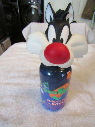 Vintage Sylvester the Car Soaky Bubble Bath Container Empty Warner Bros 1995