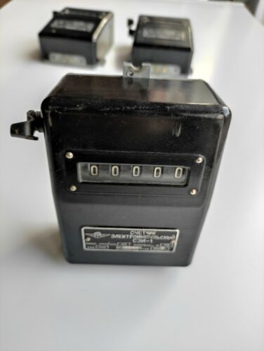 Counter USSR Electrical meter SEI-1  Vintage 1962 year (rare)